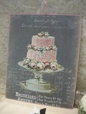 Shabby Chic French / PARIS Plaque