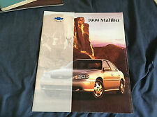 1999 Chevy Chevrolet Malibu Original Color Brochure Prospekt