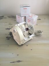 ELEC SPINNER - SEIKO Electric Spinning Wheel, 4 Bobbins, Kt-100 Japanese, WORKS!
