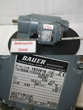 Bauer 0,04 kw  10 min getriebemotor BG06-11  gearbox