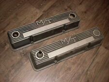 VINTAGE CHEVROLET CHEVY  327 350 M/T MICKEY THOMPSON ALUMINUM VALVE COVERS