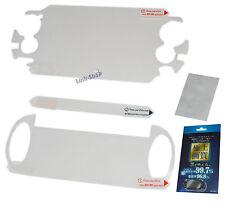 Pellicola Fronte Retro Protettiva Display per Sony PSP PS VITA PSVITA Console
