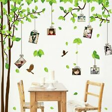 The Forest Of Memory Photos Frame Design Wall Sticker For Bedroom Living Room