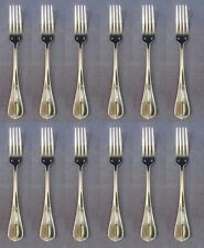 SET OF TWELVE - Sant Andrea Stainless SCARLATTI Dinner Forks NEW