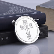 SAINT CHRISTOPHER Silver Easter Sunday Medal Commemorative Coins Art Crafts Gift