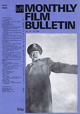 WARREN OATES Monthly Film Bulletin Apr 1980