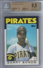 1986 Barry Bonds Topps Traded RC #11T... Graded BGS 9.5 Gem Mint
