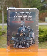Railway Journeys The Vanishing Age of Steam 5 DVDs & Booklet & Collectible Tin