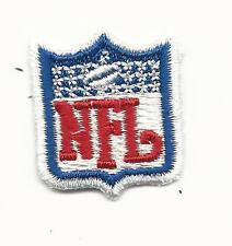 """New Small NFL Football Shield Logo Patch Sew On 1 1/4"""" x 1 1/8"""""""