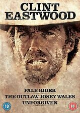 CLINT EASTWOOD WESTERNS COLLECTION - PALE RIDER / UNFOR - BLU-RAY - REGION B UK