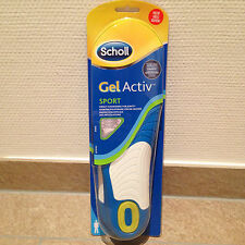 Scholl Gel Activ Insole Sports Men Gr 42 - 48 Gel Active Pair
