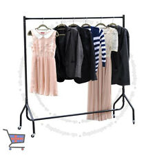 Heavy Duty 5ft Home Dress Clothes Hanging Display Market Rail Steel Rack H489