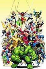 AVENGERS by Art Adams poster 24 x 36 inches brand new ( FULL SIZE)