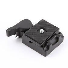 323 RC2 Quick Release Plate Adapter +Clamp fr Manfrotto Ballhead Tripod 200PL-14
