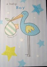 New Baby Boy - Bundle of Joy Card by Just Write Cards.
