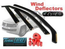 VW AMAROK 2011- 4 Door Wind Deflectors 4 pcs (31188)