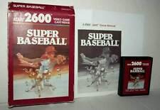 SUPER BASEBALL GIOCO USATO BUONO ATARI VCS 2600 EDIZIONE AMERICANA FR1 42862