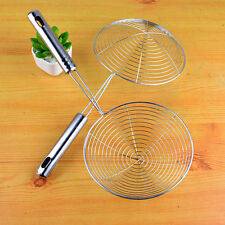 Stainless Steel Fine Chinois Mesh Skimmer Strainer Ladle New Kitchen Tools 1pcs