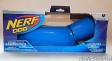 NIB Nerf Durable Dog Interaction Ball Launching Toy Hasbro with Ball Blue