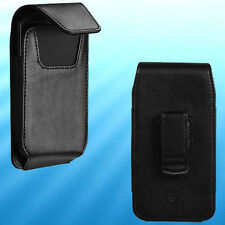 For iPod touch 6th 5th generation PU Leather Case Pouch Swivel Belt Clip Holster