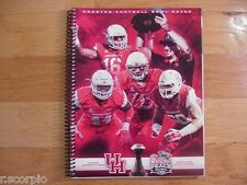 2015 Houston Cougars Chick-fil-A Peach Bowl Media Guide-Tom Herman/Players Cover