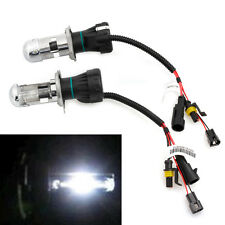 2Pcs 35W Bi-Xenon Hi/Lo Beam HID White Bulb Car Headlight Light Lamp H4 6000K