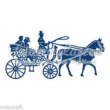 Tattered Lace Cutting Dies Horse and Carriage  Stephanie Weightman D883 *