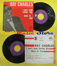 LP 45 7'' RAY CHARLES I can't stop loving you Born to lose 1962 no cd mc dvd*