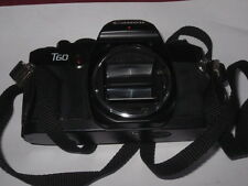 Canon FD T-60 T60 FILM SLR Camera Body Only TESTED WORKING! FREE SHIPPING!