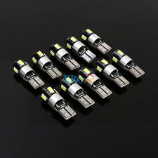 10 x Car Canbus Error Free T10 W5W 5630 194 LED 6smd Wedge Light Bulb White