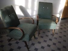 Pair of Midcentury Lounge Chairs by Jindrich Halabala