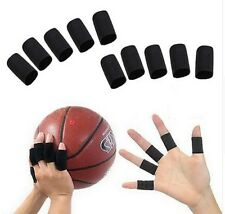 10 Finger Splint Guard Bands Nylon Bandage Support Wrap Basketball Volleyball