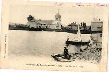 CPA Saint-LAURENT-du-JURA - Lac de l'Abbaye (211791)