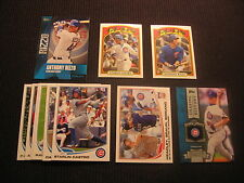 2013 TOPPS #1 CHICAGO CUBS TEAM SET 11 CARDS  ANTHONY RIZZO 1972 MINI INSERT +