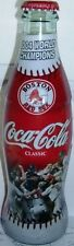 2004 Boston Red Sox World Series Champions Baseball Coca-Cola Coke Bottle