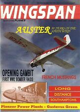 WINGSPAN MAGAZINE 1989 SEP FRENCH MUSTANGS, LONG DISTANCE SOUTHAMPTONS
