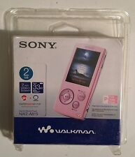 Sony Walkman NWZ-A815 Pink Mp3 Player 2GB Sealed Free Shipping USA