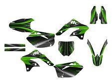 2006 2007 2008 KX 450F graphics for Kawasaki KXf450 decal kit #3333 Green