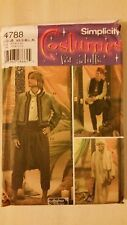 Simplicity Pattern 4788 - Men's Turkish Moroccan Arabian Caftan Jacket Salwar