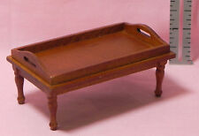Dollhouse Miniature Coffee Table Walnut with Handle Living Room T6627 1:12 Scale