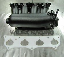 Honda RBC Pre-Modified Intake Manifold Black Powder Coated w/ Thermal Gasket