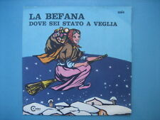 "SEXY COVER & TRASH-7"" CARTOON COVER- MIRELLA ""La befana-Dove sei stato a veglia"""