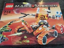 Lego Mars Mission 7697 MT-51 Claw-Tank Ambush 100% complete with instructions