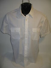 #6451 SS PERRY ELLIS SHIRT MEN'S LARGE EXC. USED