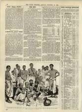 1891 Celebrated Indian Pundit Iswar Chunder Vidyasgar Dying Bank Ganges