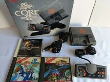 NEC PC Engine Coregrafx2 PI-TG7 Console,Pad,AV cable,Game with Boxed set-K7-
