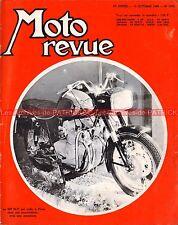 MOTO REVUE 1808 MV AGUSTA 600 ; ISDT 66 ; Les Coupes du Salon de PARIS 1966