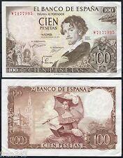 100 Pesetas 1965 BECQUER  EBC / SPAIN Pick 150  XF