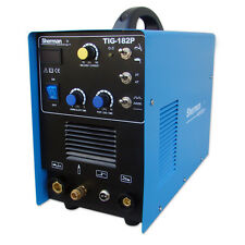 Sherman TIG Inverter Welder 182P TIG DC, MMA 180Amp 230 AC 50Hz FREE UK SHIPPING