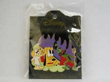 Disney Japan History of Art 2002 Pluto Lend a Paw Angel & Devil LE Pin